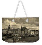 Old In Memory But Modern Copenhagen Weekender Tote Bag