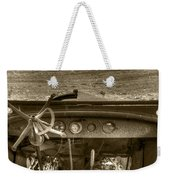 Old Inside And Out Weekender Tote Bag