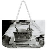 Old Iron Weekender Tote Bag by Shaun Higson