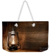 Old Kerosene Light Weekender Tote Bag