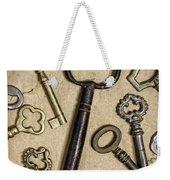 Old Keys Weekender Tote Bag