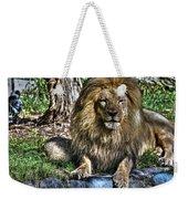 Old King Lion Weekender Tote Bag