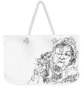 Old Lady Weekender Tote Bag