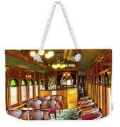 Old Lounge Car From Early Railroading Days Weekender Tote Bag