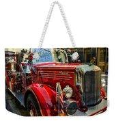 Old Mack Firetruck Weekender Tote Bag