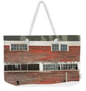 Old Maine Barn In Winter Weekender Tote Bag