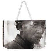 Old Man Weekender Tote Bag