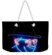 Old Man In Neon 2 Weekender Tote Bag