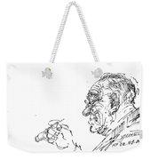 Old Man Weekender Tote Bag