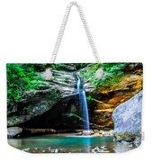 Old Mans Cave Lower Falls Weekender Tote Bag