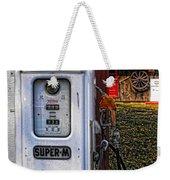Old Marathon Gas Pump Weekender Tote Bag