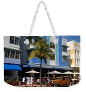Old Miami Weekender Tote Bag