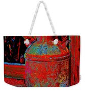 Old Milk Pail Pop Art Weekender Tote Bag
