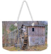 Old Mill Water Wheel And Sluce Weekender Tote Bag