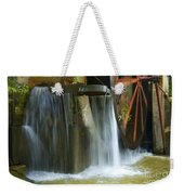Old Mill Water Wheel Weekender Tote Bag
