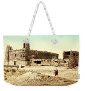 Old Mission Church At Acoma Weekender Tote Bag