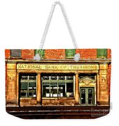 Old National Bank Of Thurmond Weekender Tote Bag