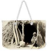 Old Navajo At His Hogan Weekender Tote Bag