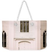 Old New England Gothic Church Weekender Tote Bag