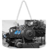 Old No. 7 Black White And Blue Weekender Tote Bag