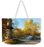 Old North Bridge Weekender Tote Bag by Brian Jannsen