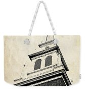 Old North Church In Boston Weekender Tote Bag
