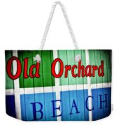 Old Orchard Beach Weekender Tote Bag