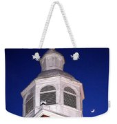 Old Otterbein Umc Moon And Bell Tower Weekender Tote Bag