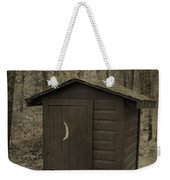 Old Outhouse Out Back Weekender Tote Bag