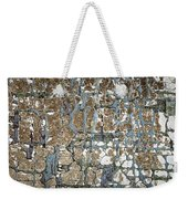 Old Painted Wood Abstract No.5 Weekender Tote Bag