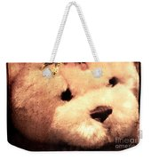 Old Photo Bear Weekender Tote Bag