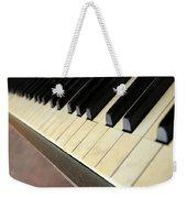Old Piano Weekender Tote Bag