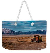 Old Pickup Weekender Tote Bag