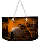 Old Plymouth Yellow Weekender Tote Bag