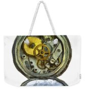 Old Pocket Watch Weekender Tote Bag