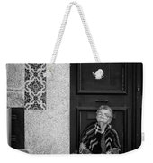 Old Portuguese Woman Weekender Tote Bag
