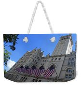 The Old Post Office Or Trump Tower Weekender Tote Bag