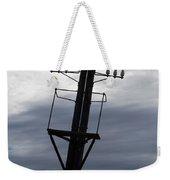 Old Power Pole Weekender Tote Bag