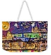 Old Prague Magic - Wallpaper Weekender Tote Bag by Daniel Janda
