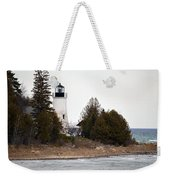 Old Presque Isle Lighthouse Weekender Tote Bag