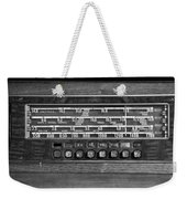 Old Radio Change The Station Weekender Tote Bag