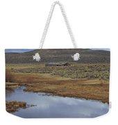 Old Range Barn Weekender Tote Bag