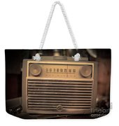 Old Rca Victor Antique Vintage Radio Weekender Tote Bag