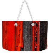 Old Red Barn Four Weekender Tote Bag