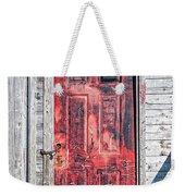 Old Red Door Weekender Tote Bag