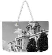 Old Rhode Island State House Bw Weekender Tote Bag
