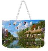 Old River Cottage Weekender Tote Bag by Dominic Davison