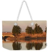 Old Roads And Bridges South Jersey Weekender Tote Bag