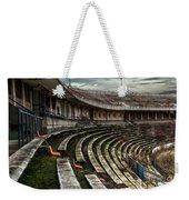 Old Ruined Stadium Weekender Tote Bag