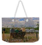 Old Rural Route Weekender Tote Bag